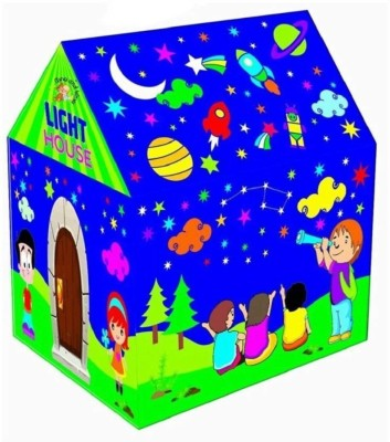 M A PRODUCTS Led Tent House for kids(Multicolor)