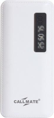Callmate 13000 Power Bank White, Lithium ion Callmate Power Banks