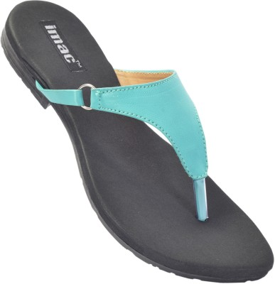 imac Women Blue Flats