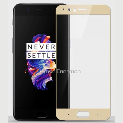 Case Creation Tempered Glass Guard for OnePlus 5(Pack of 1)