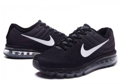 66% OFF on nike shoes airmax 2017 Running Shoes For Men(Black)