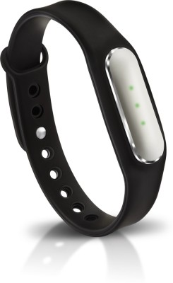 Syska Zing Smart Fit band(Black Strap, Size : Free Size)