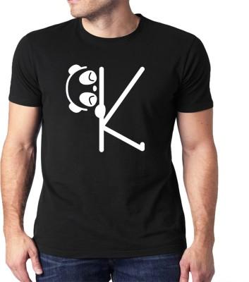HEYUZE Graphic Print Men Round Neck Black, White T-Shirt Flipkart