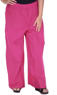 Naive Regular Fit Women Pink Trousers