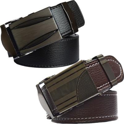Sun Shopping Men Formal Multicolor Synthetic Belt