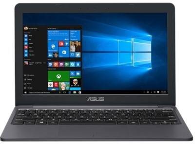 Asus E203NAH-FD057T Celeron Dual Core 7th Gen - (4 GB/500 GB HDD/Windows 10 Home) E203NAH-FD057T Laptop(11.6 inch, Grey)