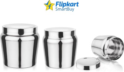 Flipkart SmartBuy 4 Piece Refrigerator Storage Containers(Pack of 4, Red)