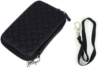 Etake Pouch For 2.5 Inch HDD Case Black External Hard Drive Case(For Hard Disk Case,HDD Case, Black color)