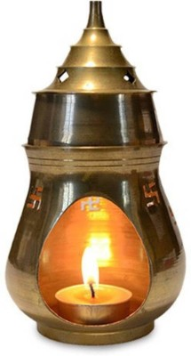 THEGLOBALMART 7 Lamp Base(Brass) at flipkart