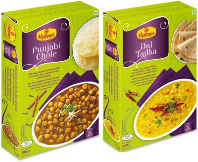 Haldiram's Nagpur Punjabi Chole and Dal Tadka (Combo Pack) 600 g  available at flipkart for Rs.150
