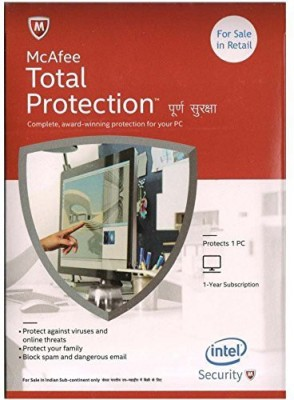 McAfee Total Protection - 1 User for 1 Year