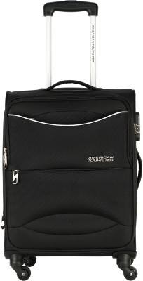 American Tourister Brookfield Sp80 Expandable  Check-in Luggage - 32 inch(Black)