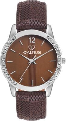 Walrus Diamond Analog Watch   For Women Walrus Wrist Watches
