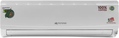 Micromax 1.5 Ton 3 Star BEE Rating 2018 Inverter AC  - White(ACI18C3A3QS2WH, Copper Condenser)