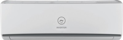 View Godrej 1.5 Ton 3 Star BEE Rating 2018 Inverter AC  - White(GIC 18 RINV 3 DWQR, Copper Condenser) Price Online(Godrej)