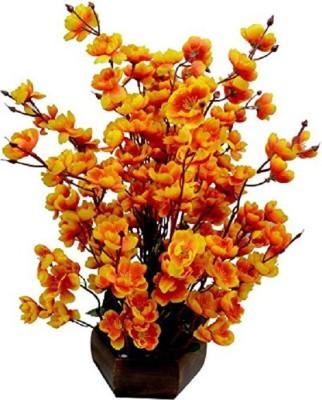 30eed5e0dc39d kaykon Beautiful Artificial Flower Pot For Home Decor Flowers Office Decor  Hotel Decor Gold Orchids Artificial