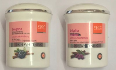 VLCC Snigdha Skin Whitening Night and Day Cream(100 g)