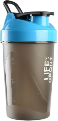 Xudo Fitness Gym Protein Shaker 400 ml Bottle, Shaker, Sipper, Can(Pack of 1, Blue)  available at flipkart for Rs.229