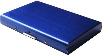 Stealodeal Blue Waterproof Limited Edition Metal Atm 6 Card Holder(Set of 1, Blue)