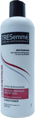TRESemme UV filter & Shine booster Colour Vibrance Protection Conditioner for colour treated hair - 500ml(500 ml)