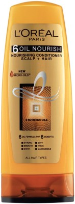Loreal Paris 6 Oil Nourish Conditioner Scalp and Hair, 175ml