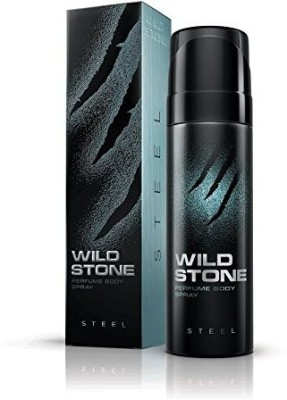 Wild Stone Steel Perfume Body Spray  -  For Men(120 ml)