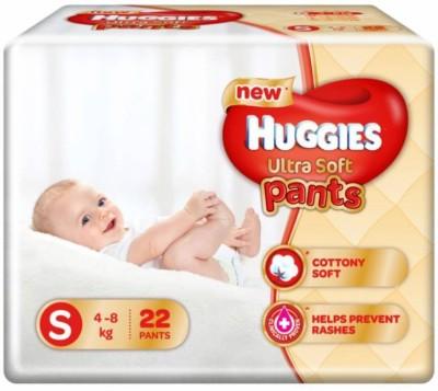 0e230e7ce 37% OFF on Huggies Ultra Soft Small Size Premium Diapers Pant Diapers -  S(80 Pieces) on Flipkart | PaisaWapas.com