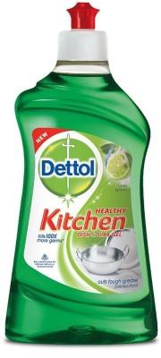 Dettol Kitchen Slab and Dish Cleaning Gel(Lime Splash, 400 ml)