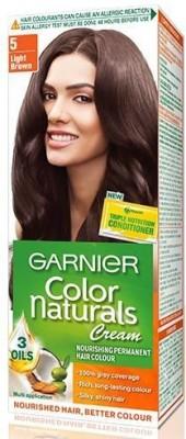 Garnier Color Naturals Hair Color -Shade 5 Light Brown, 70ml