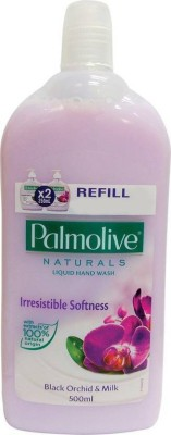 Palmolive Naturals Black Orchid and Milk Hand Wash Refill(500 ml, Bottle)