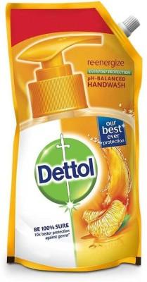 Dettol Re-energize Liquid Hand Wash Refill(750 ml, Pouch)