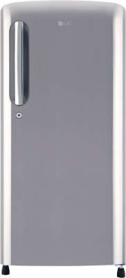 LG 190 L Direct Cool Single Door 4 Star Refrigerator(Shiny Steel, GL-B201APZX)  available at flipkart for Rs.14999