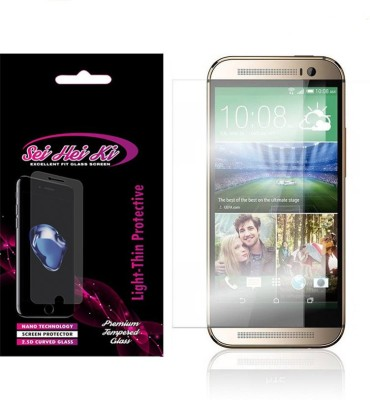 SEI HEI KI Tempered Glass Guard for HTC ONE M8(Pack of 1)
