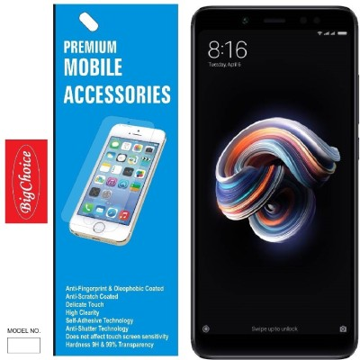 BigChoice Tempered Glass Guard for Mi Redmi 6 pro(Pack of 1)