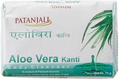 Patanjali Aloe Vera Kanti Body Cleanser Soap, 75 GM