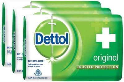 Dettol Original Soap(3 x 125 g)