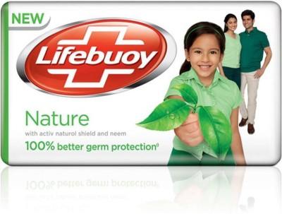 Lifebuoy Nature Soap(125 g)