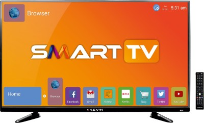 Kevin 102cm (40 inch) Full HD LED Smart TV(KN40S) (Kevin)  Buy Online