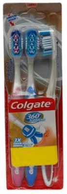 Colgate 360 Surround Soft Toothbrush(Pack of 3)