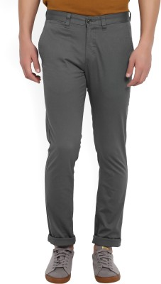 John Miller Slim Fit Men's Grey Trousers