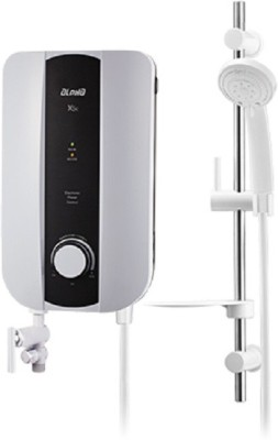ALPHA Tankless Instant Water Geyser (X5E, Ivory White)