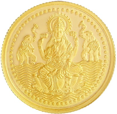 MALABAR GOLD   DIAMONDS MGLX999P1G 24  999  K 1 g Yellow Gold Coin MALABAR GOLD   DIAMONDS Coins   Bars
