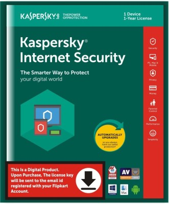 KASPERSKY 1 User 1 Year Internet Security Activation Code(Standard Edition)