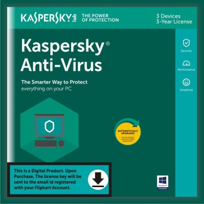 KASPERSKY 1 User 1 Year Anti-virus Activation Code(Standard Edition)