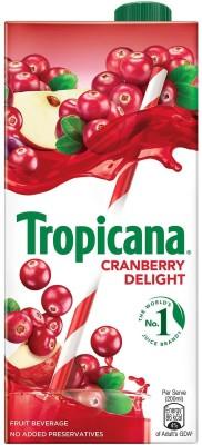 Tropicana Cranberry Delight Fruit Beverage(1 L)