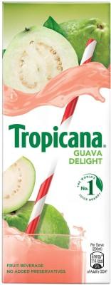Tropicana Guava Delight Fruit Beverage(200 ml)
