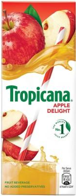 Tropicana Apple Delight Fruit Beverage(200 ml)