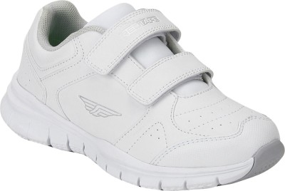 Girls Velcro Walking Shoes(White