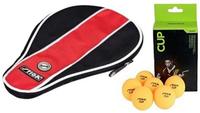 Stiga Combo of Two, One Table Tennis Cover and One 'Cup' Table tennis Balls Box (Color On Availability)- Table Tennis Kit  available at flipkart for Rs.610