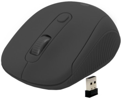 Zebronics Rollo Wireless Optical Mouse 2.4GHz Wireless, Black Zebronics Mouse